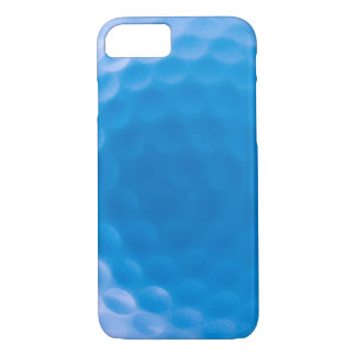 Golf Ball Texture Dimples Arctic Blue iPhone 7 Case