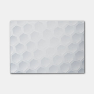 Golf ball texture post-it notes