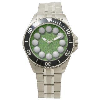 Golf Ball Time Watch