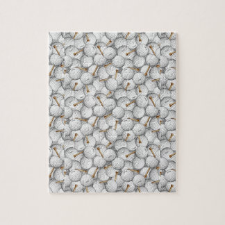 Golf Balls and Tees Jigsaw Puzzle