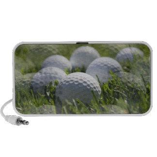 Golf Balls Collage Speakers