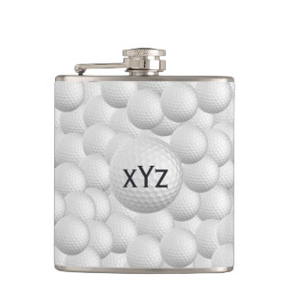 Golf Balls custom flask