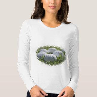 Golf Balls Long Sleeve Shirt