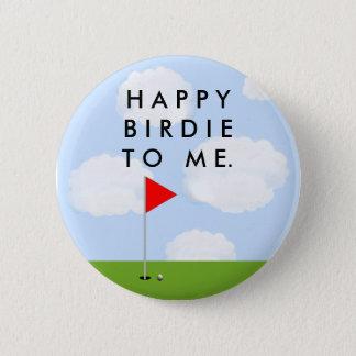 Golf Birdie 6 Cm Round Badge
