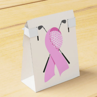 Golf Breast Cancer Awareness Favour Box