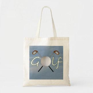 Golf Budget Tote Bag