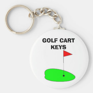 GOLF CART KEYS KEY RING