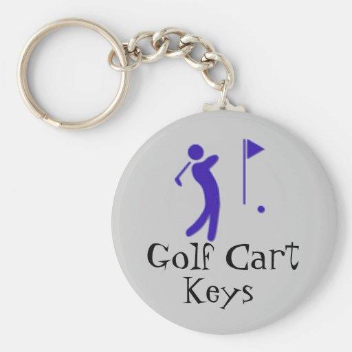 Golf Cart Keys Key Chains
