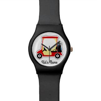 Golf cart watch