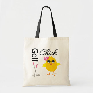 Golf Chick Canvas Bag