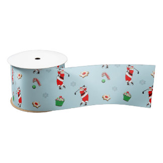 golf Christmas gift ideas Satin Ribbon