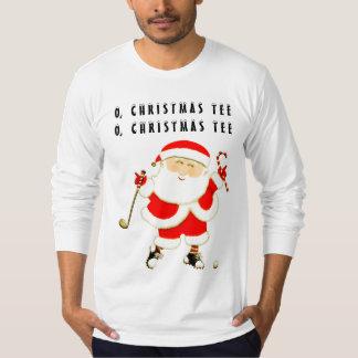 Golf Christmas T-Shirt