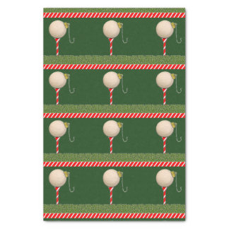 Golf Christmas Tissue Paper