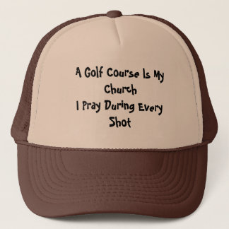 Golf Church Trucker Hat