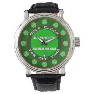 Golf Clock Watch