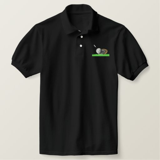 Golf Club And Ball Polo