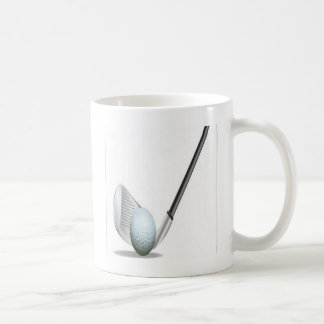 Golf club and golf ball design coffee mug