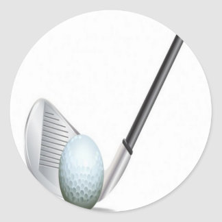 Golf club and golf ball design stickers