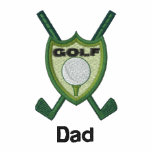 Golf Club Emblem Personalised Name Embroidered Shirt