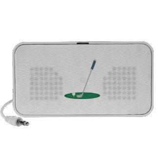 Golf Club Laptop Speaker