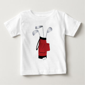 Golf Clubs and Bag Baby T-Shirt