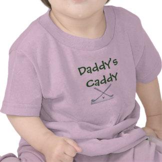 golf-clubs, Daddy's Caddy T-shirts