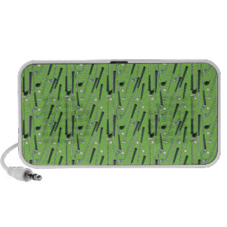 Golf Clubs Travel Speakers