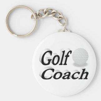 Golf Coach 3D Key Chains