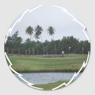 Golf Country Club Sticker