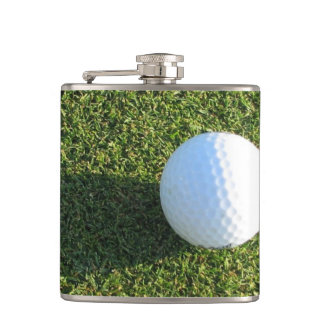 Golf Course Designs Hip Flask