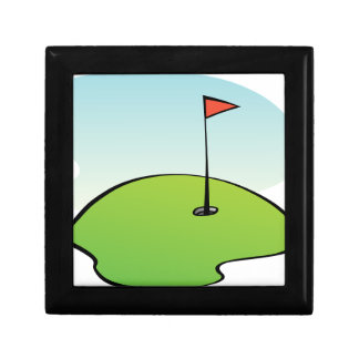 Golf Course Gift Box