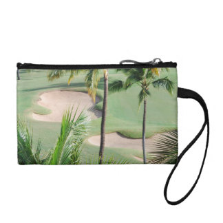 Golf Course in Tropics Coin Purse
