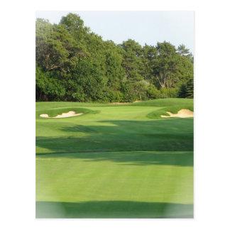 Golf Course Postcard