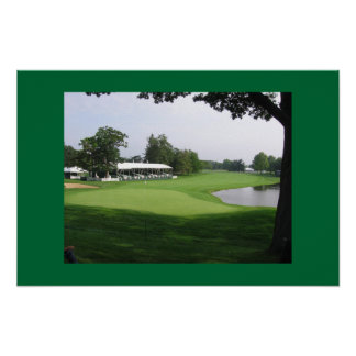 golf course poster