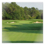 Golf Course Poster Print