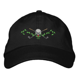 Golf Crest Embroidered Cap
