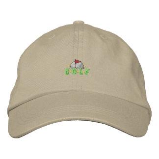 Golf Crest Embroidered Hat