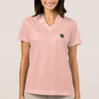 GOLF Crest with Laurel Wreath and Clubs Polo Shirt