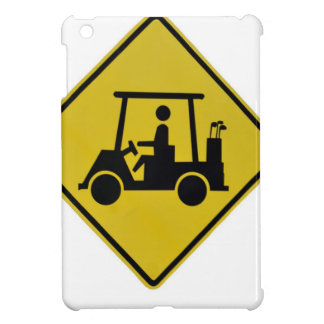 golf-crossing-sign iPad mini case
