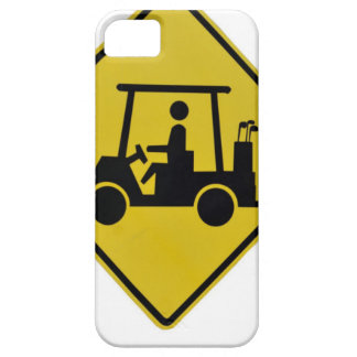 golf-crossing-sign iPhone 5 case