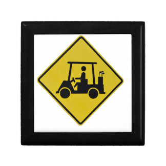golf-crossing-sign small square gift box