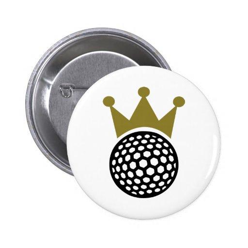 Golf crown button