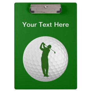 Golf Custom Clipboard