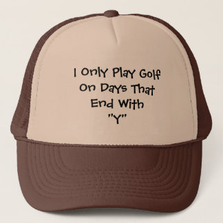 Golf Days Trucker Hat