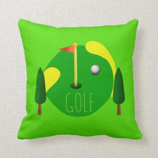 Golf Decor Throw Pillow