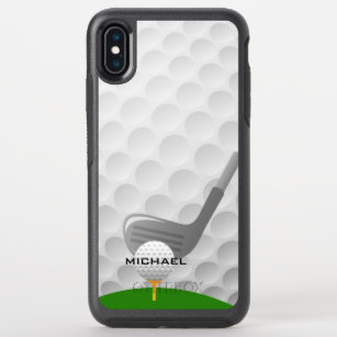 Golf Ball Tee Iphone Xs Max Cases Zazzle Au