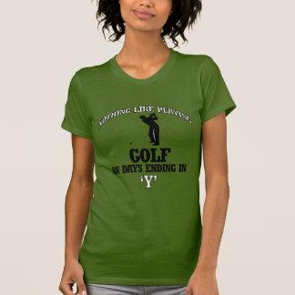 golf designs t shirt