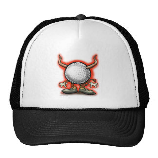 Golf Devil Cap