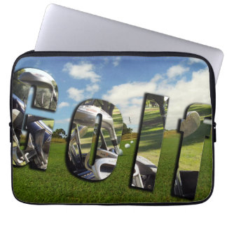Golf, Dimensional Logo 13 inch Laptop Sleeve