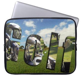 Golf, Dimensional Logo 15 inch Laptop Sleeve